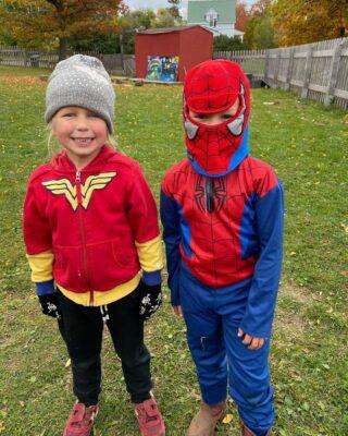 Who's your favorite super hero? #superheroday #montikids
